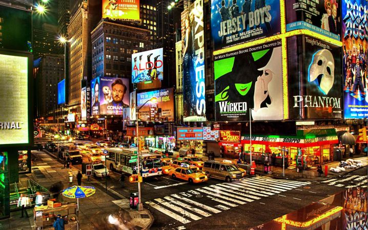 Broadway theatrical performances