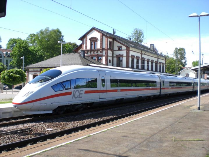 Bavarian bullet train