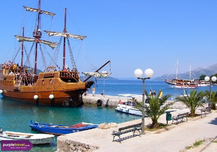 Kolocep island, Croatia