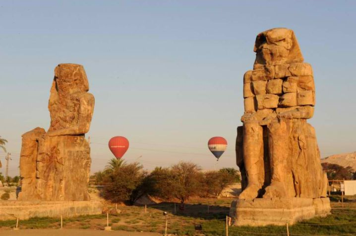 ancient monuments of Egypt