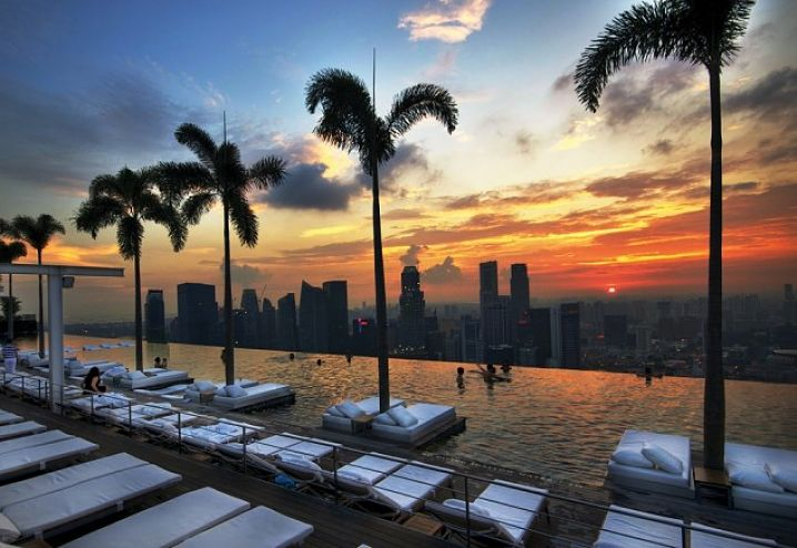 Rooftop pools Around The World