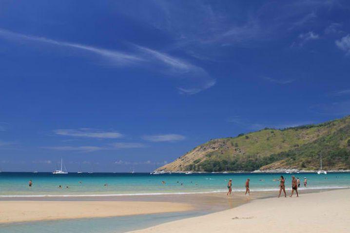 beautiful beach in Phuket