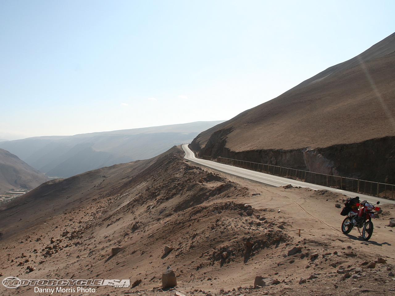 Dangerous roads in Chile