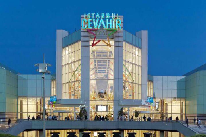 modern designed shopping mall