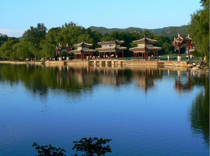 summer palace of Qing Dynasty