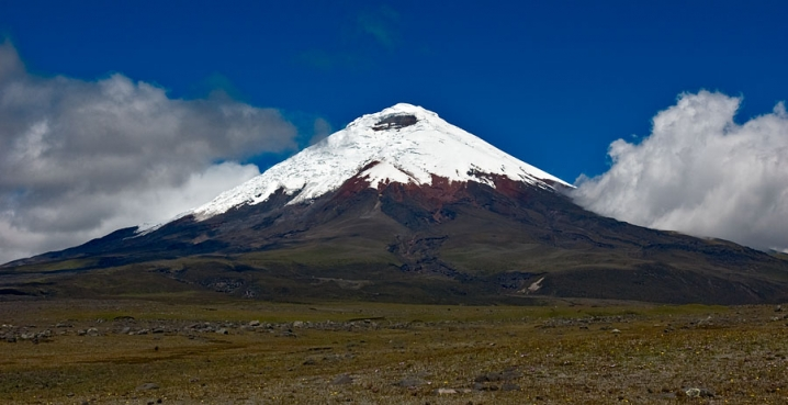 the second highest summit in Ecuador