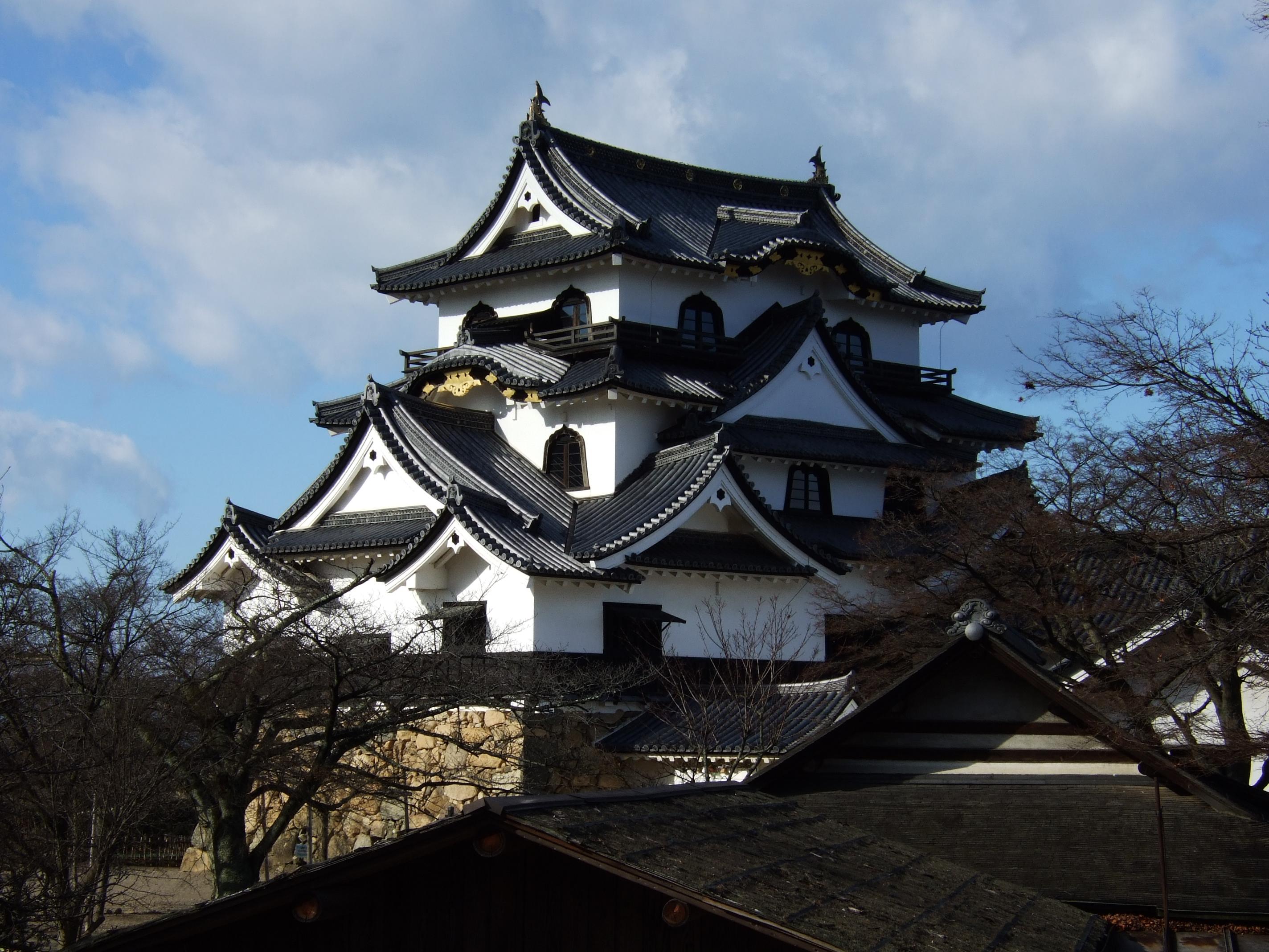 Original Japan castle