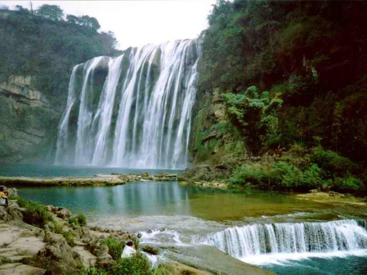 highest waterfall all over Asia