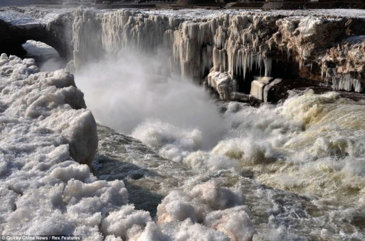 largest waterfall in the Yellow River