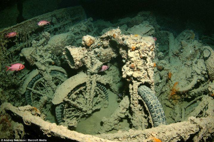 SS Thistlegorm ship wreck