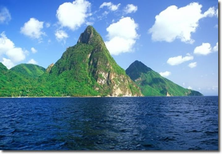 St Lucia Caribbean Sea: 20 Most Romantic Islands In The World
