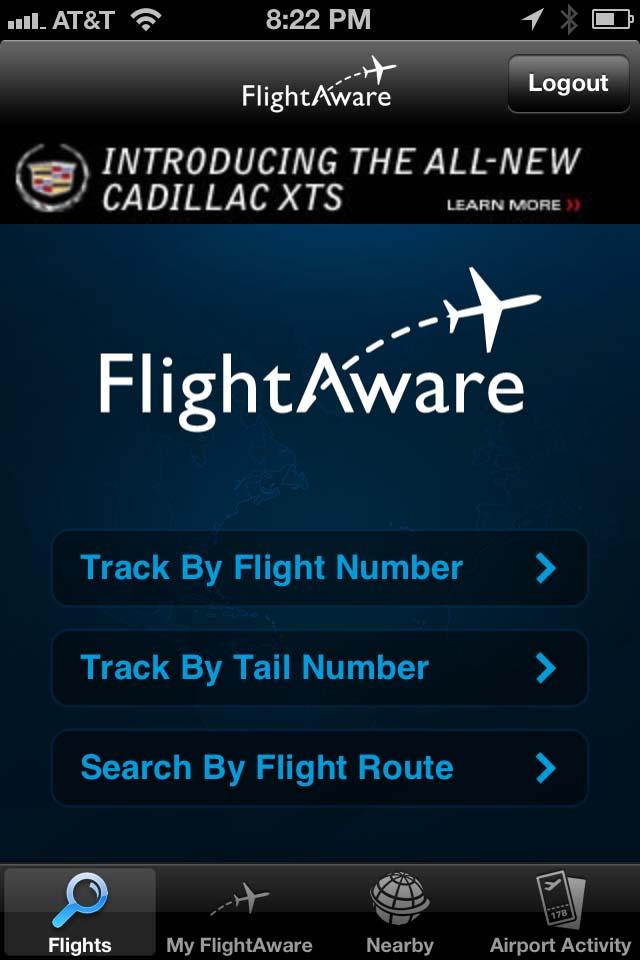 Flight Aware Flight Tracker