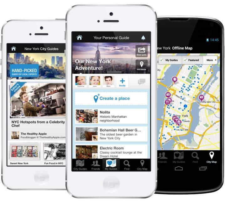 Stay.Com Guides, Offline Maps