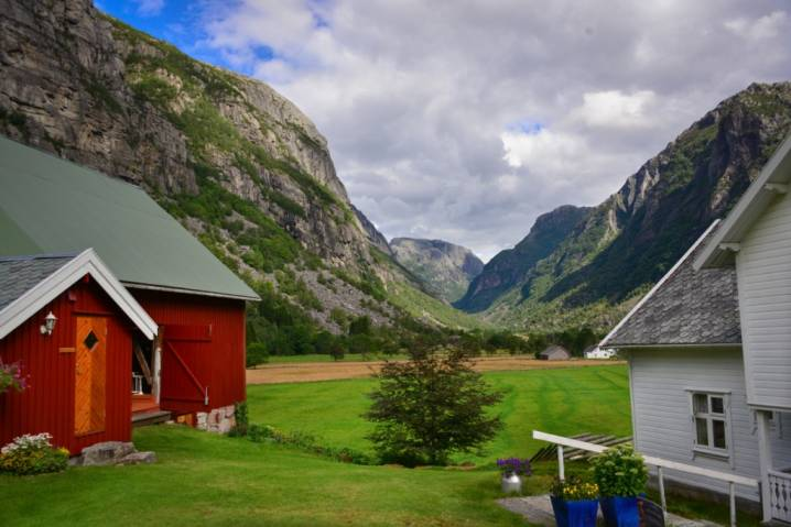 The Lysefjord Valley