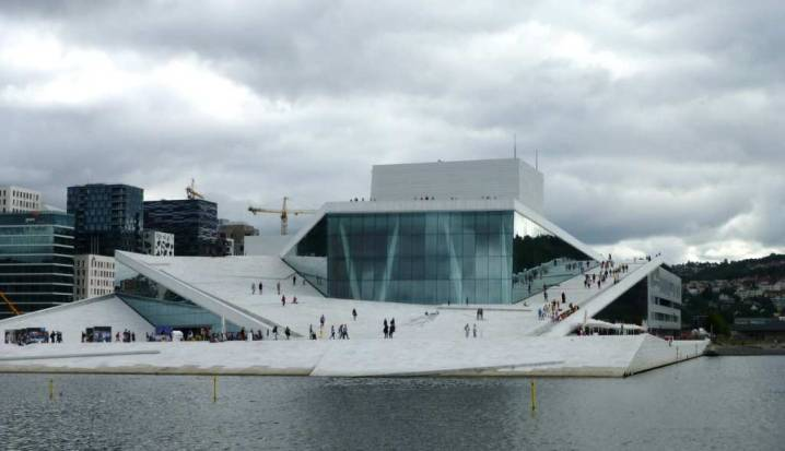 Watching Opera at the Oslo Opera and Ballet